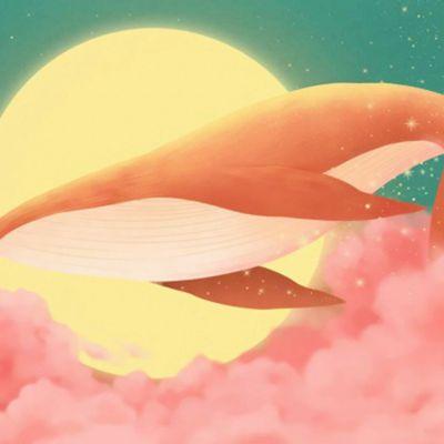 鲸鱼唯美头像高清_WWW.QQYA.COM