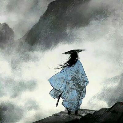 清冷孤傲古风头像男_WWW.QQYA.COM