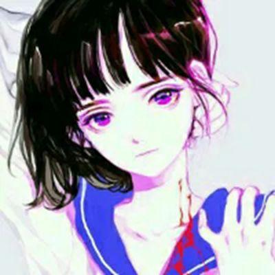 卡通头像女生唯美冷傲有气质_WWW.QQYA.COM