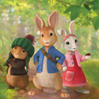 可爱比得兔动漫头像图片_WWW.QQYA.COM