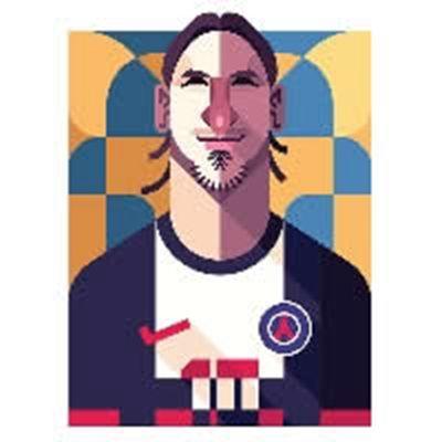 足球明星卡通头像图片_WWW.QQYA.COM