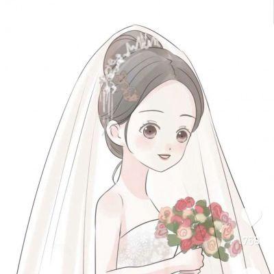 高清一男一女简单干净的情头动漫图片_WWW.QQYA.COM