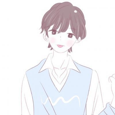 动漫情头男高冷女可爱_WWW.QQYA.COM
