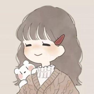 呆萌情侣卡通微信头像_WWW.QQYA.COM