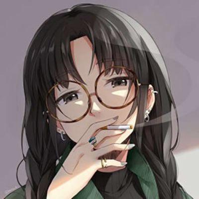 漫画头像女生霸气冷艳_WWW.QQYA.COM