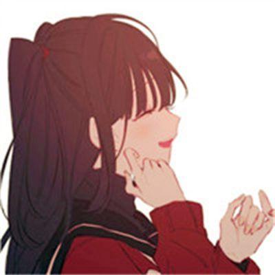 动漫二次元情侣头像一男一女_WWW.QQYA.COM