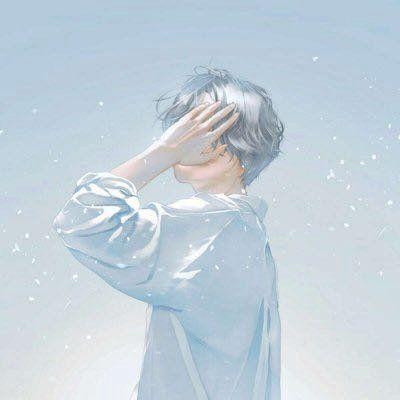 卡通头像男生冷酷帅气_WWW.QQYA.COM