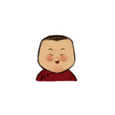 岳云鹏卡通头像_WWW.QQYA.COM