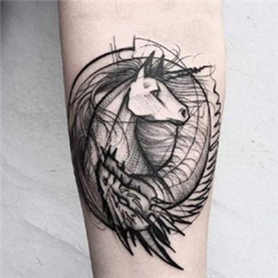 纹身头像女生社会人_WWW.QQYA.COM