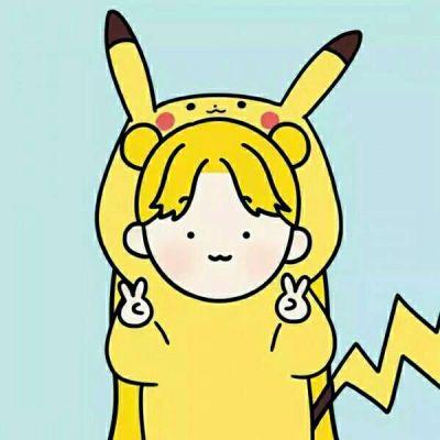 超级可爱卡通情侣头像一男一女_WWW.QQYA.COM
