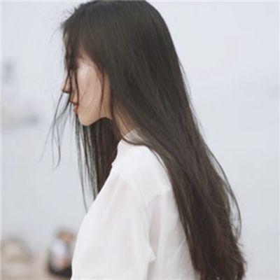唯美头像女生侧面_WWW.QQYA.COM