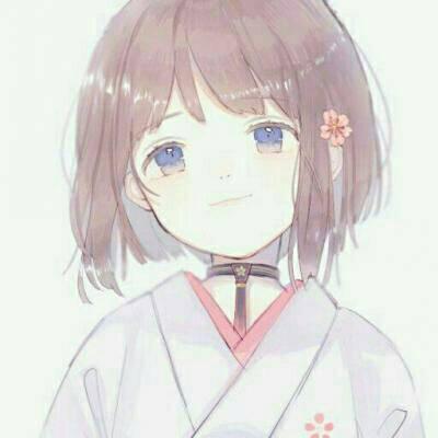 二次元少女头像唯美_WWW.QQYA.COM