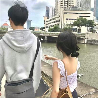 唯美小清新情侣背影头像大全_WWW.QQYA.COM