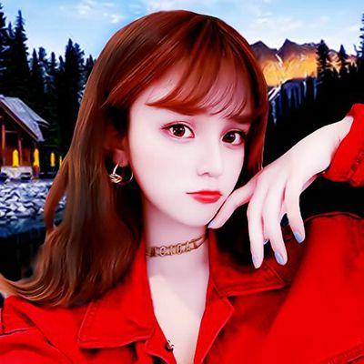 好看红色系为主的情侣头像高清2021新款图片_WWW.QQYA.COM