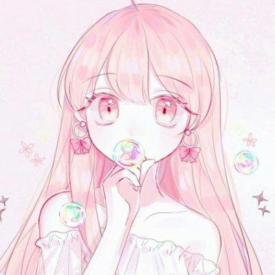 可爱萌系少女头像动漫_WWW.QQYA.COM
