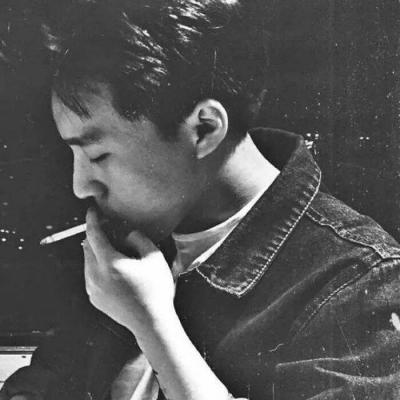 微信头像男生霸气黑白_WWW.QQYA.COM