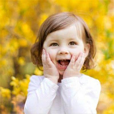 小孩笑的图片头像_WWW.QQYA.COM