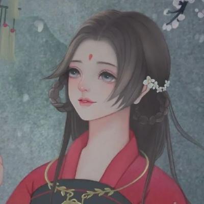 唯美动漫女生壁纸古风头像_WWW.QQYA.COM
