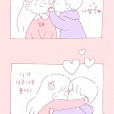 背景图可爱简约少女心头像_WWW.QQYA.COM