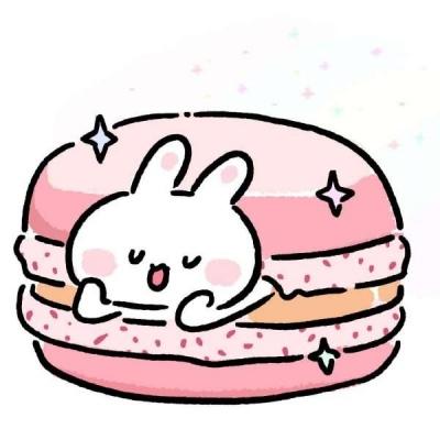 高清卡通的可爱兔子头像卡哇伊图片_WWW.QQYA.COM
