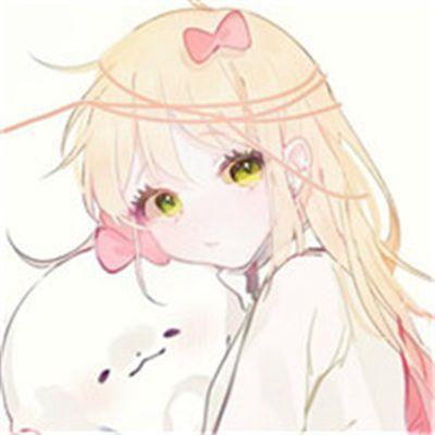 动漫二次元女生头像唯美可爱_WWW.QQYA.COM