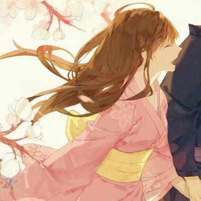 好看古风动漫情侣一对两张头像高清_WWW.QQYA.COM