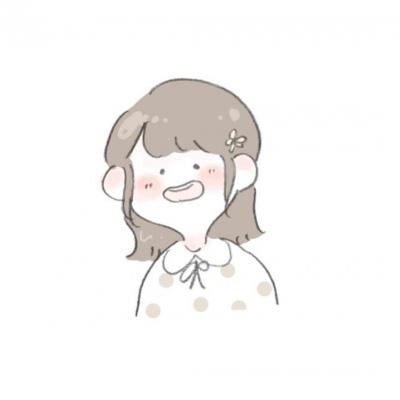 2021情侣头像卡通呆萌一对两张分开_WWW.QQYA.COM