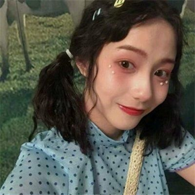 小清新可爱超好看仙气女生头像_WWW.QQYA.COM