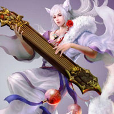 RPG网络游戏大话西游2美女角色头像图片_WWW.QQYA.COM
