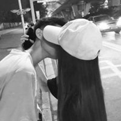 黑白情侣头像_WWW.QQYA.COM
