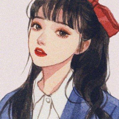好看手绘头像女生唯美_WWW.QQYA.COM