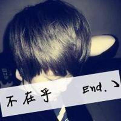 黑白头像男生_WWW.QQYA.COM