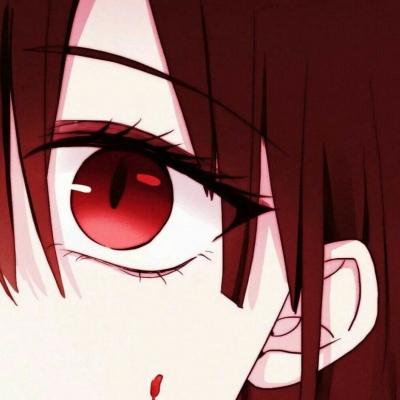 二次元眼睛头像_WWW.QQYA.COM