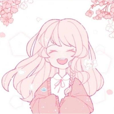 高清可爱的动漫女头粉色系软妹图片_WWW.QQYA.COM