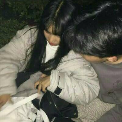 小清新学生党清纯唯美个性情侣头像_WWW.QQYA.COM
