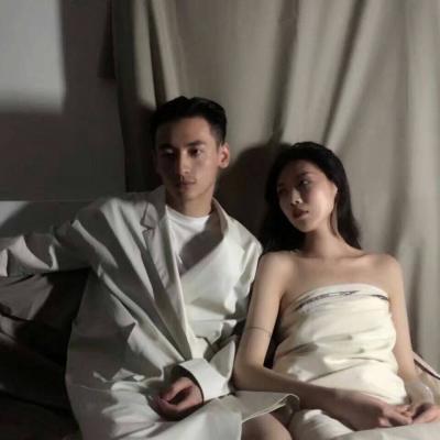 唯美情侣个性头像(我已经爱上你,已走不动)_WWW.QQYA.COM