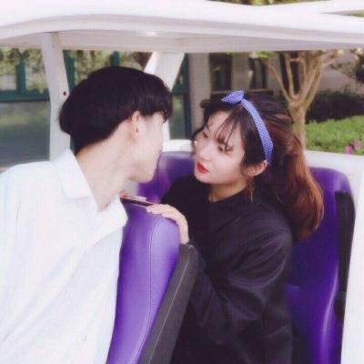 一张两人幸福情侣个性头像_WWW.QQYA.COM