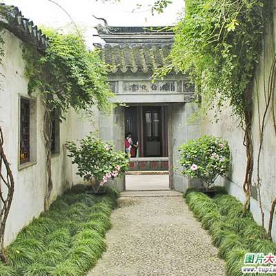 苏州园林古民居风光图片_WWW.QQYA.COM