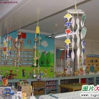 幼儿园环境布置图片_WWW.QQYA.COM