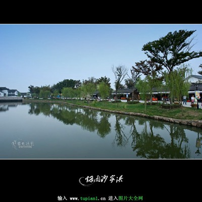烟雨时节美丽风景画_WWW.QQYA.COM