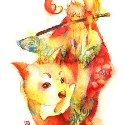 好看的外国彩画艺术_WWW.QQYA.COM