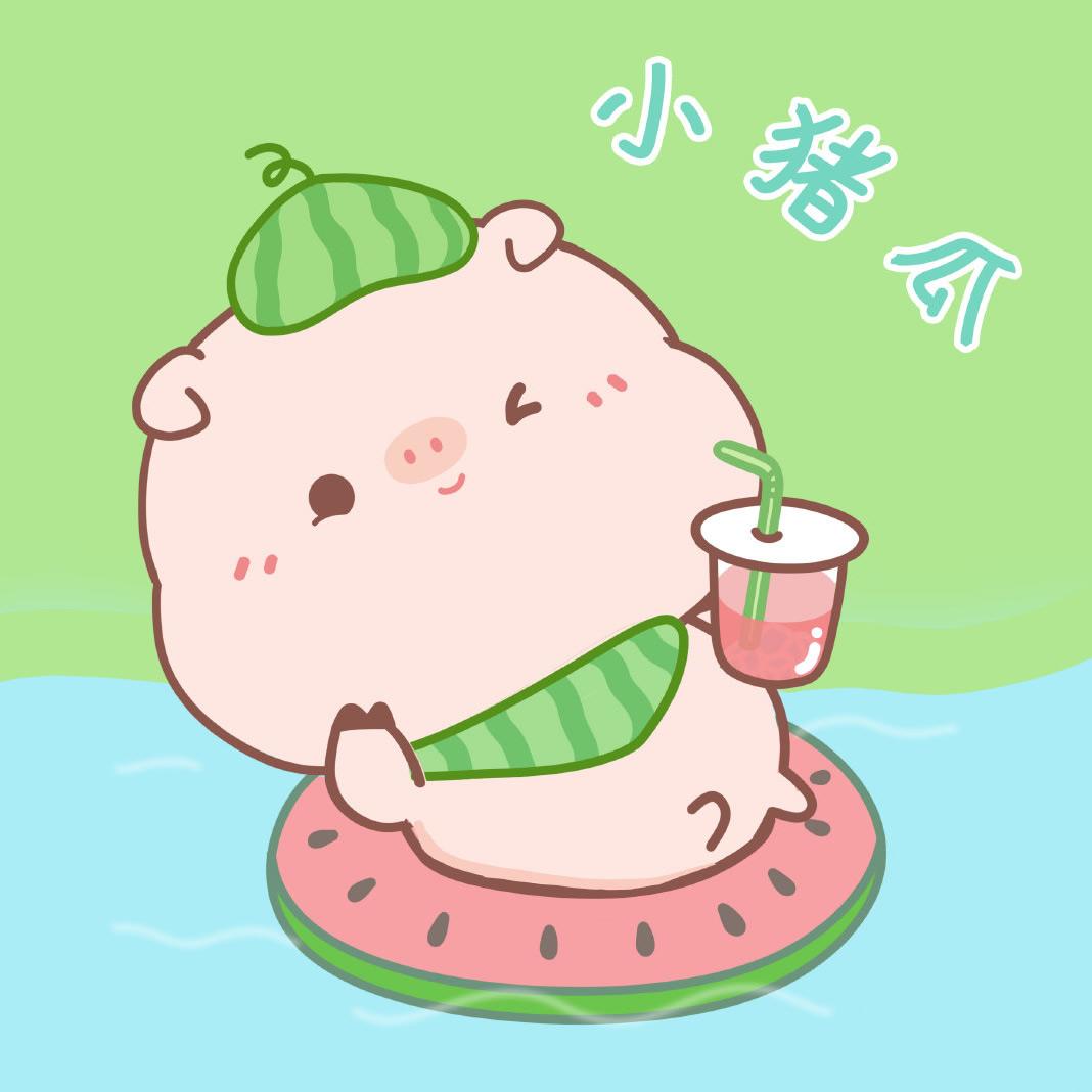 超可爱的猪猪图片_WWW.QQYA.COM