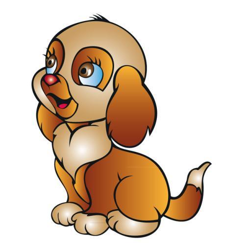 狗的动漫图片可爱_WWW.QQYA.COM