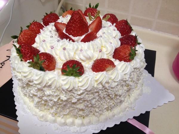 儿童生日水果蛋糕图片_WWW.QQYA.COM