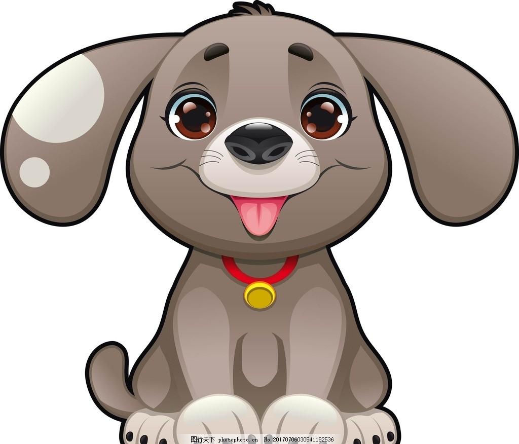 狗的卡通图片大全可爱图片_WWW.QQYA.COM