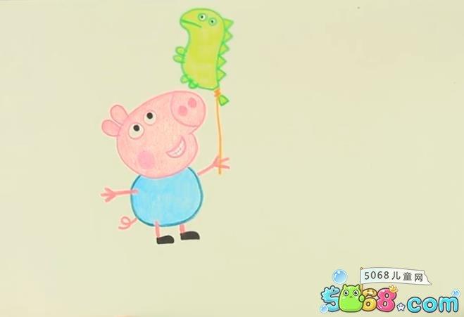 小猪佩奇的乔治图片大全_WWW.QQYA.COM