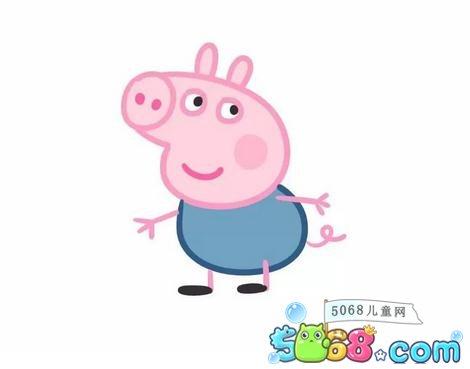 小猪佩奇乔治的恐龙图片_WWW.QQYA.COM