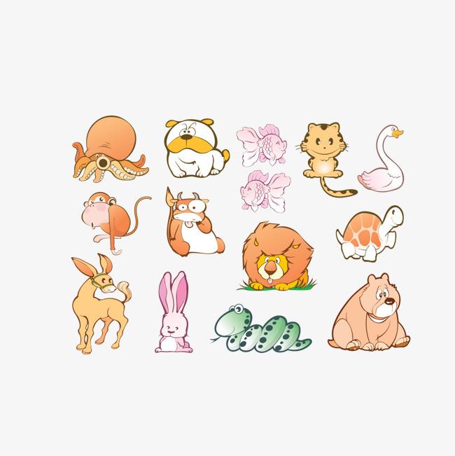 卡通狗图片大全呆萌_WWW.QQYA.COM