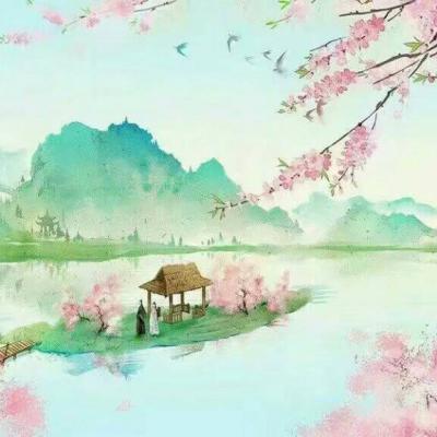 动漫古风唯美风景图_WWW.QQYA.COM