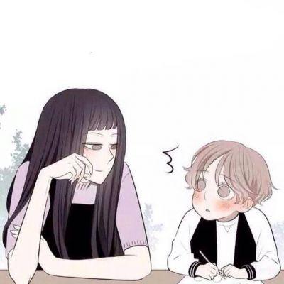 动漫情侣背景图片分开_WWW.QQYA.COM